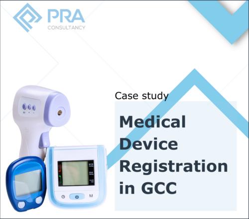Medical device registration in GCC